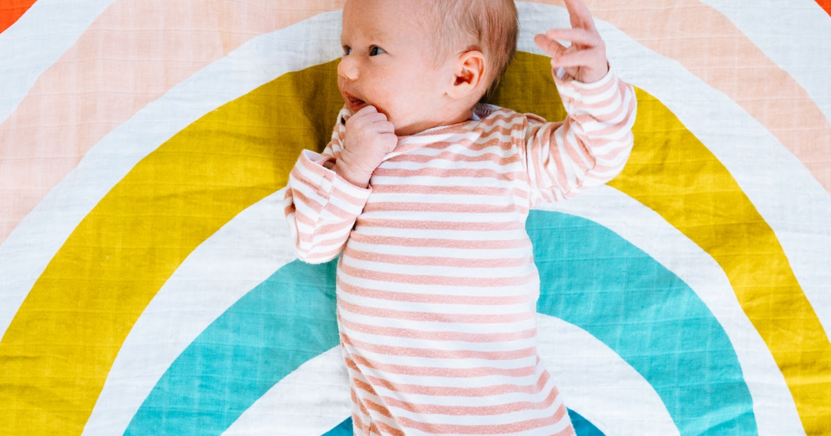 39 Rainbow Baby Names Filled With Hope, Happiness, & Joy