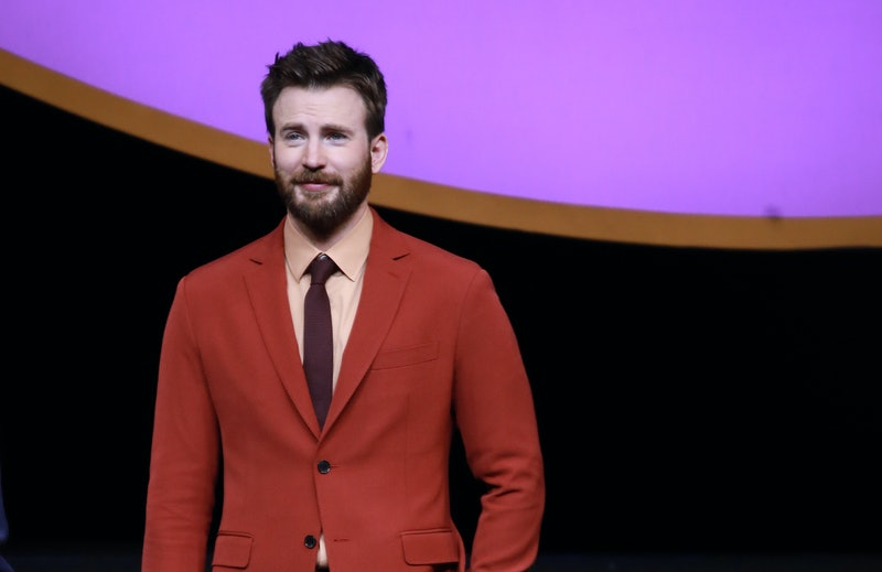 Chris Evans Is Getting This Boy A Real Captain America Shield