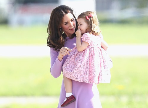 Princess Charlotte inherited her mom's style and the pair are often caught matching