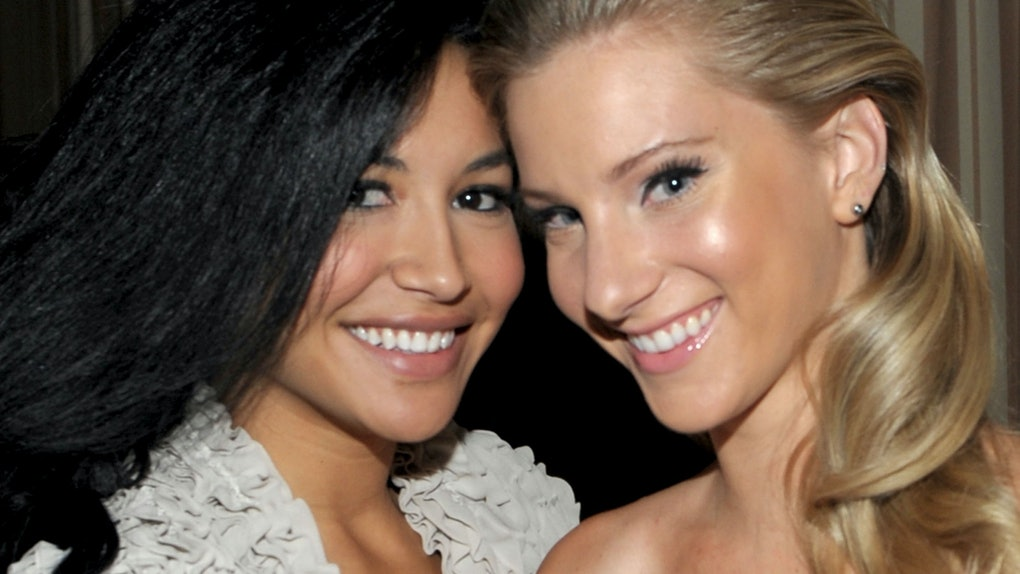 Heather Morris' Tribute To Naya Rivera Includes Photos Of Their Kids Playing.