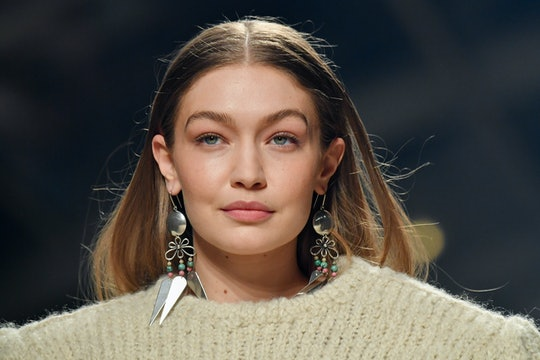 Gigi Hadid showed off her pregnancy bump in a new IGTV video on Wednesday.