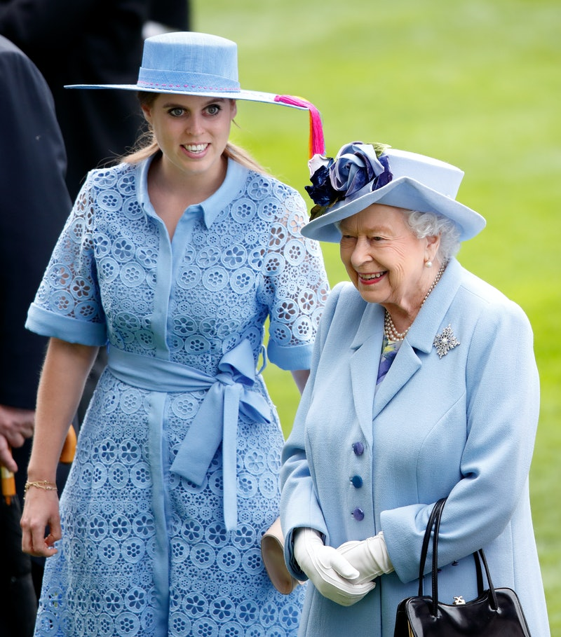 Princess Beatrice borrowed wedding gown from the Queen.