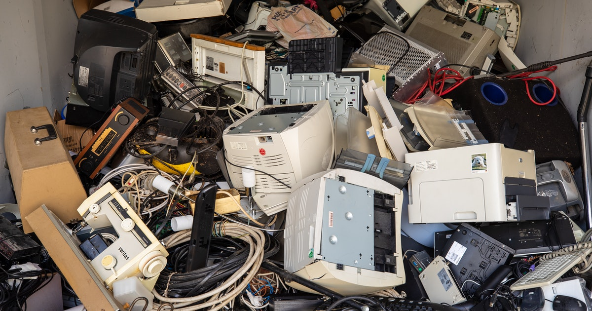 E-waste is a harmful and growing problem. Here's how to recycle your old electronics