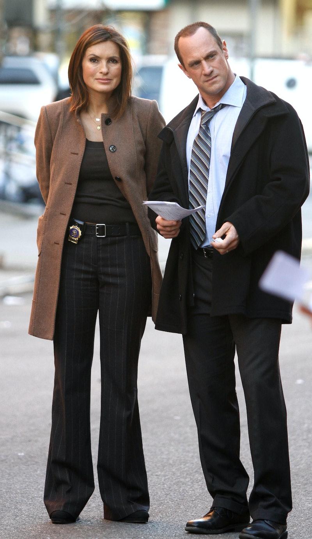 Chris Meloni and Mariska Hargitay reunited ahead of Law & Order spinoff.
