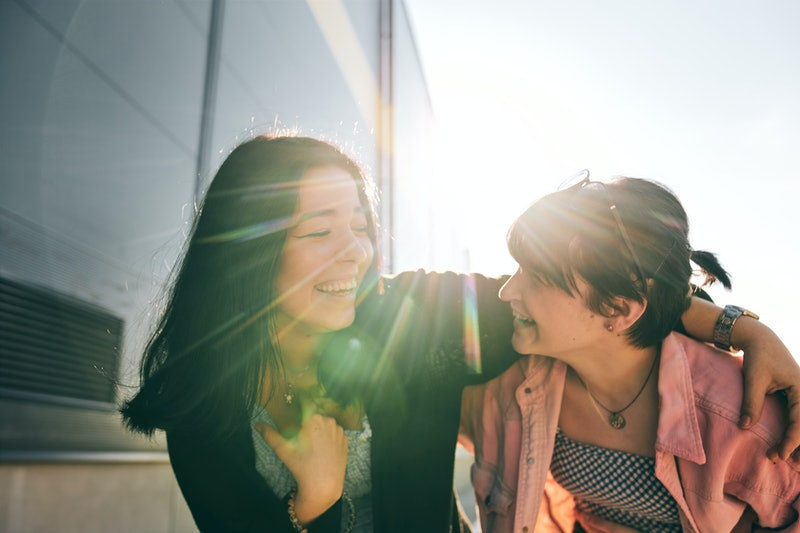 friends, laughing