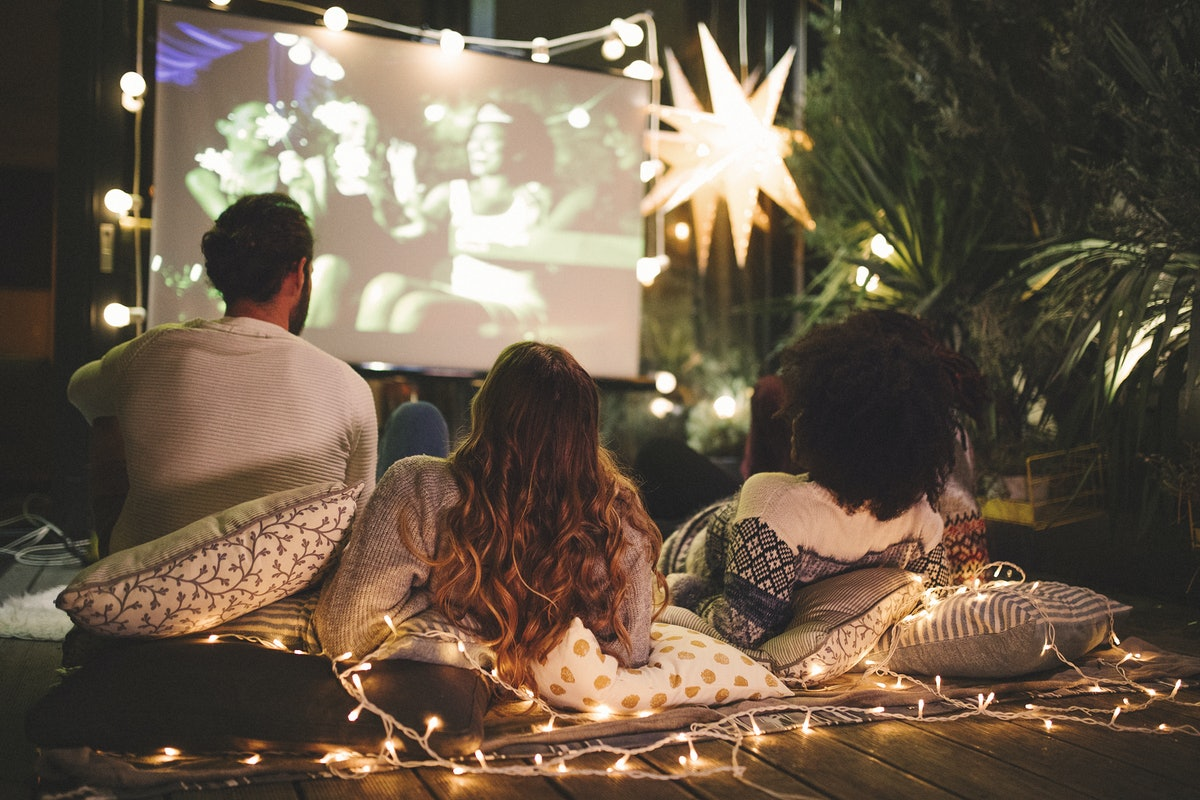 When you watch a movie outdoors, don't forget to use one of these Instagram captions to document the...