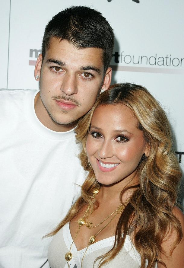 Rob Kardashian and Adrienne Bailon hit the red carpet.