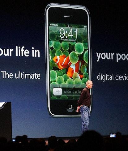 The original iPhone design from 2007.
