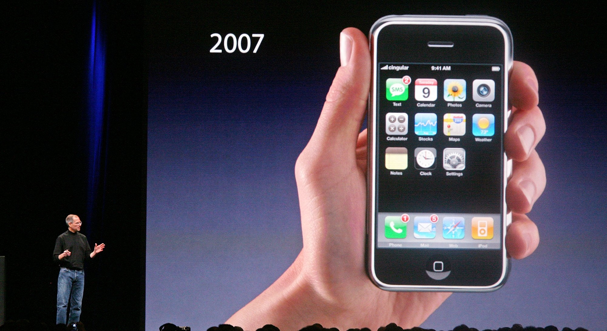 The original iPhone design from 2007.