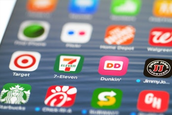 Apps on iPhone.
