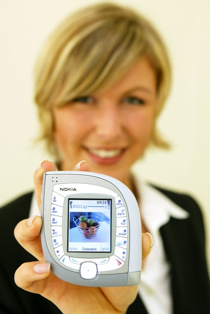 Nokia 7600 phone