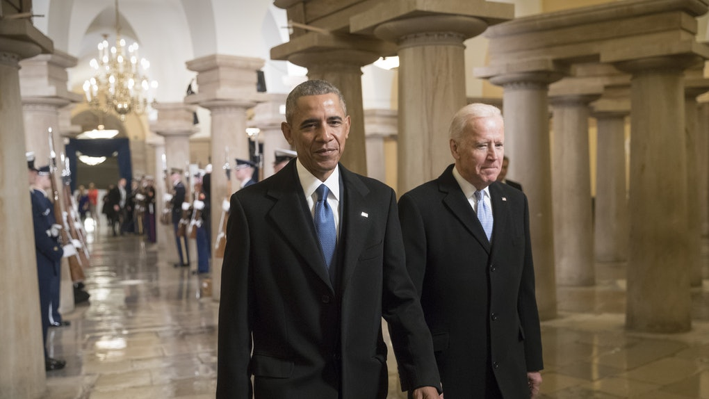 This video teaser of Barack Obama and Joe Biden's conversation gets so real about America's issues.