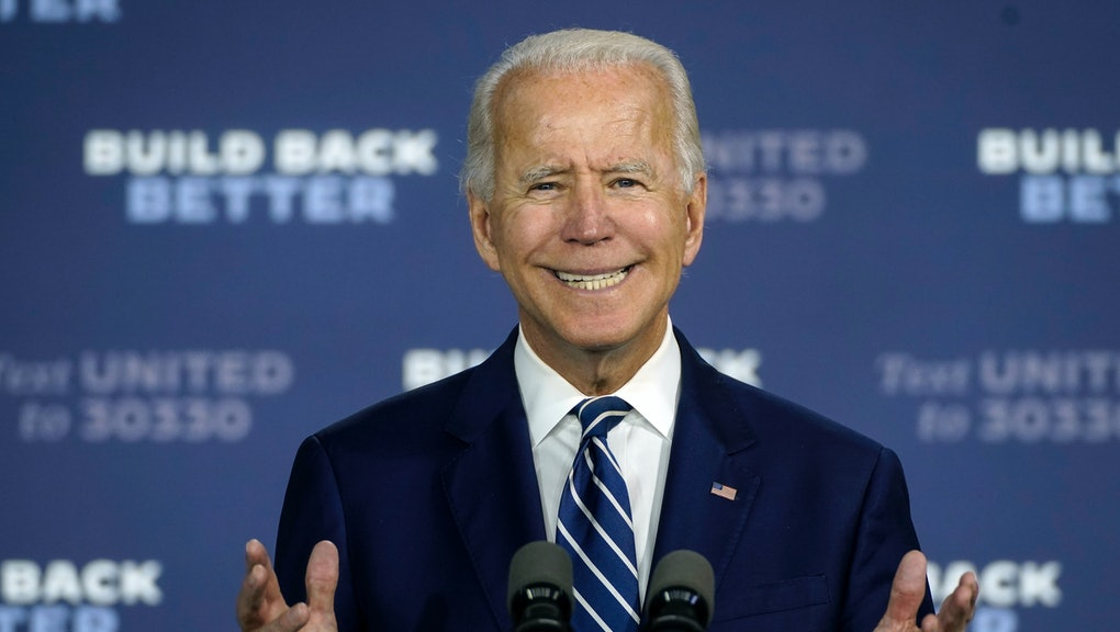 Joe Biden's crack that Trump is America's first racist president did not go  over well