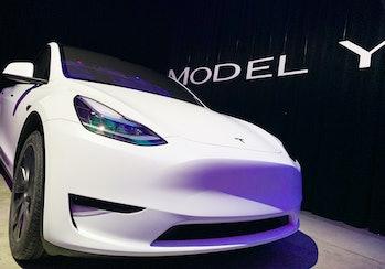 The Tesla Model Y uses nickel in its battery packs.