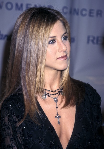 Aniston has even rocked a goth/punk look on the red carpet.