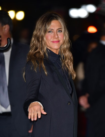 Aniston has tried a wide range of lipsticks including bright pink.
