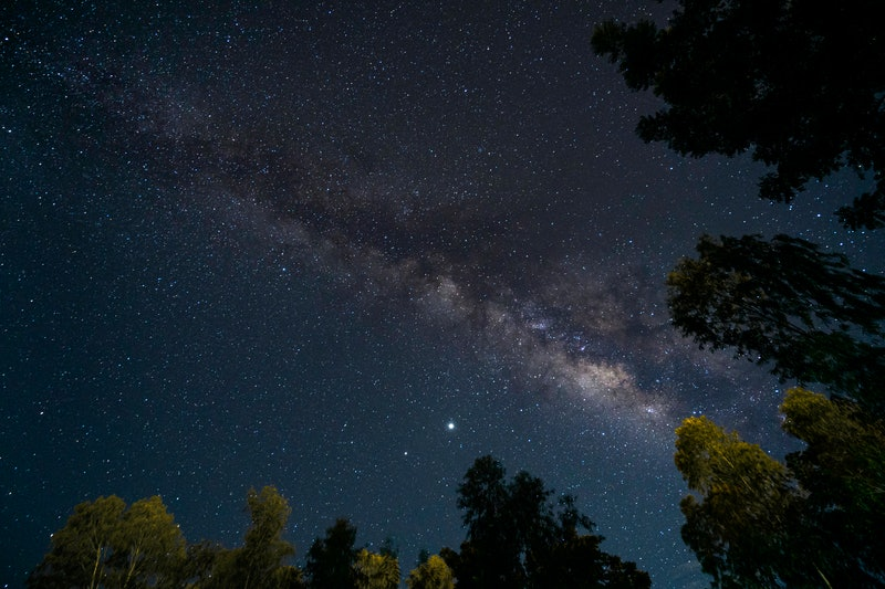 starry night, stars, nighttime, zodiac