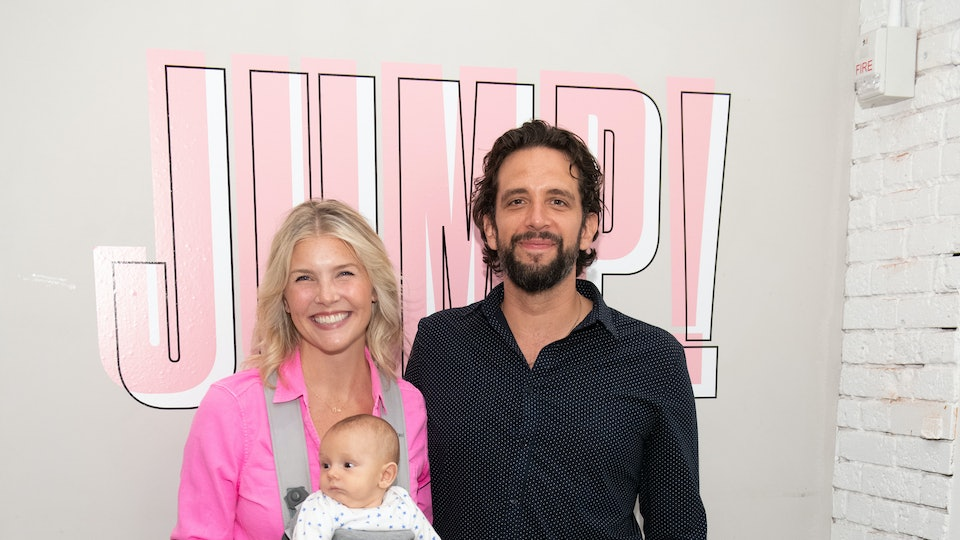 Nick Cordeo's wife, Amanda Kloots, posted a touching video of their son saying 'dada' for the first time.