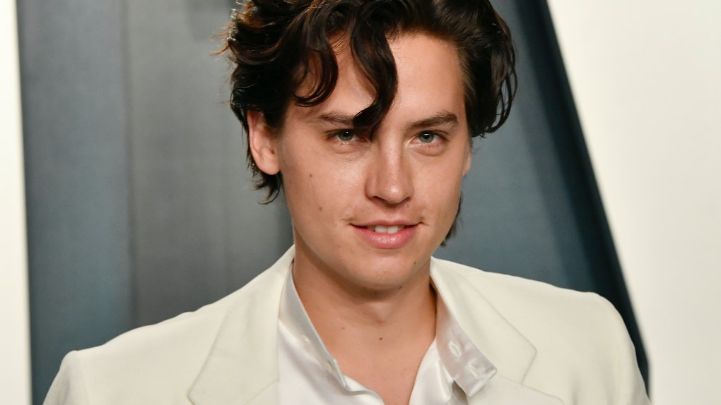 Cole Sprouse attends the Oscars.
