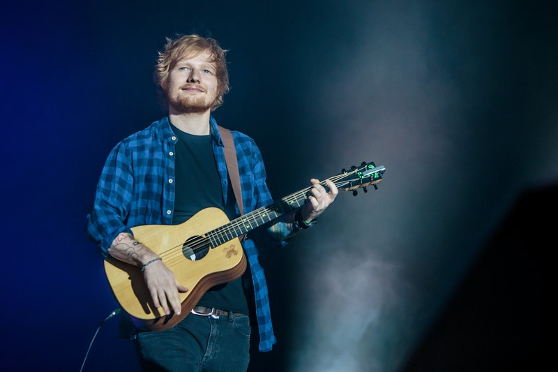 """Ed Sheeran Says His """"Addictive Personality"""" Led To Eating & Drinking Problems"""