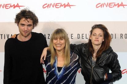 'Twilight' director Catherine Hardwicke with Robert Pattinson and Kristen Stewart
