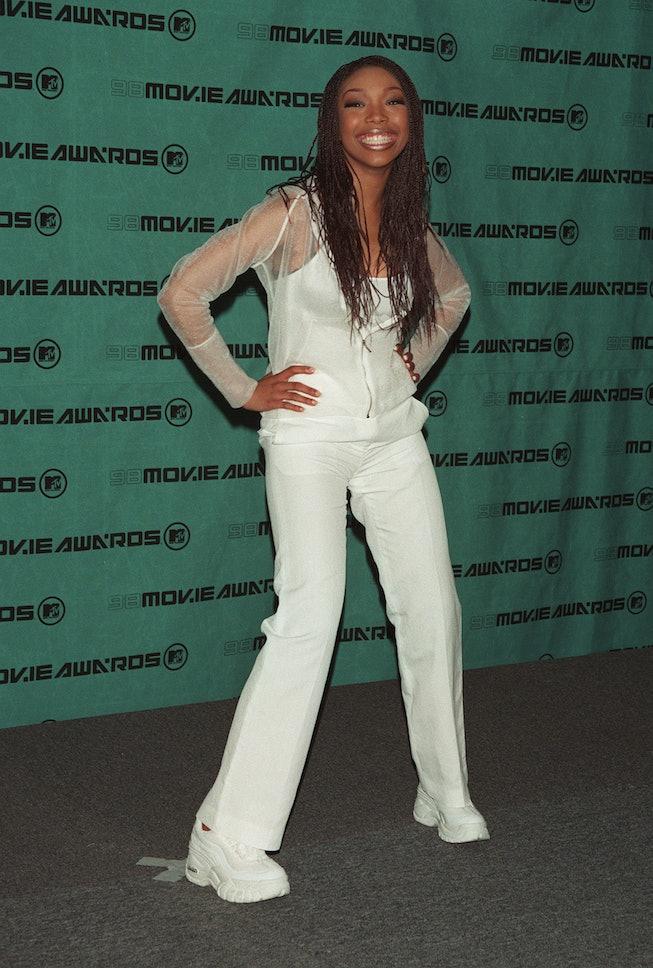 Brandy in 1998, MTV Movie Awards