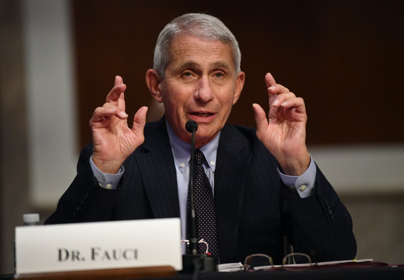 Dr. Anthony Fauci reacted to Brad Pitt's Emmy nomination.