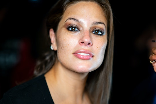 Ashley Graham celebrated her stretch marks in a bikini photo shoot.
