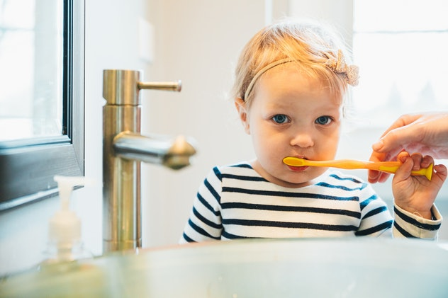 One thing you need to know about fluoride and toddlers is that a little toothpaste goes a long way.