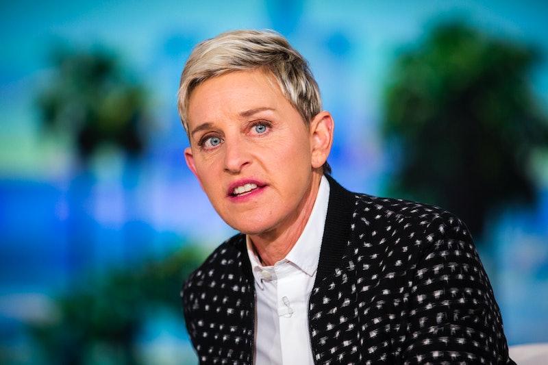 Ellen DeGeneres on set of 'The Ellen DeGeneres Show'