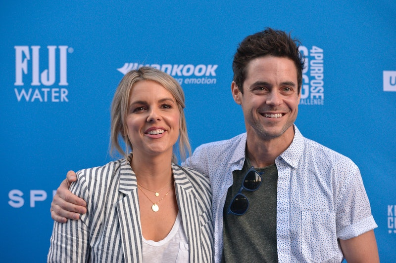Ali Fedotowsky and her now-husband Kevin Manno.
