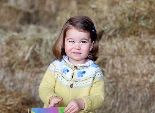Princess Charlotte is a budding style icon