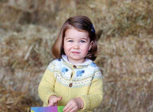 Princess Charlotte is a budding style icon