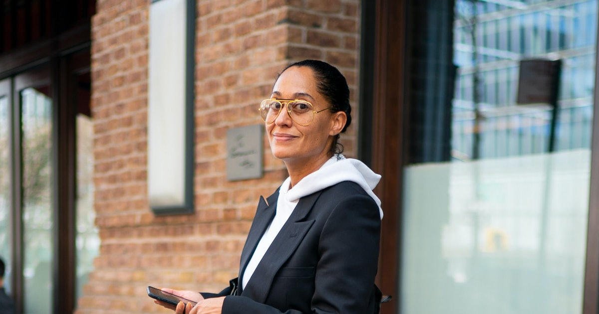 Tracee Ellis Ross's Sweatpants Challenge Is An Instagram Trend Fit For Working From Home