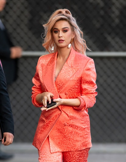 If you're looking for red hair color ideas, try Katy Perry's rose gold shade