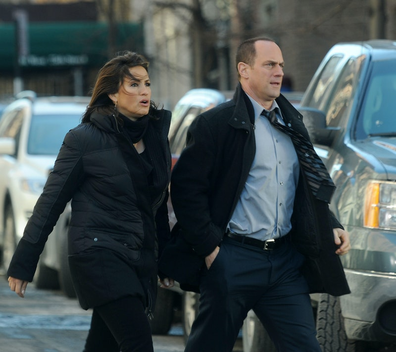 Christopher Meloni and Mariska Hargitay 'Law & Order: SVU'