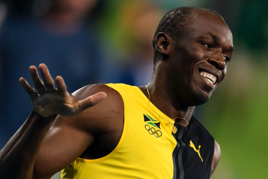 Usain Bolt welcomed daughter Olympia Lightning Bolt.