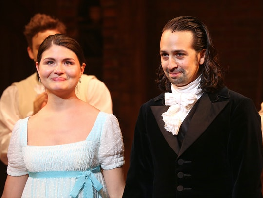 A little girl got very excited when she saw Phillipa Soo in 'Hamilton.'