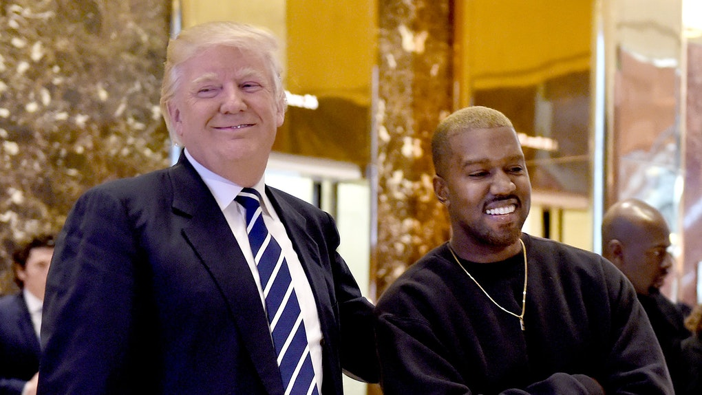 Kanye West meets with Donald Trump.