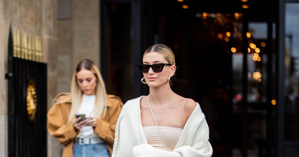 Hailey Baldwin Wore *The* Dress Of Summer 2020 From Instagram, ICYMI