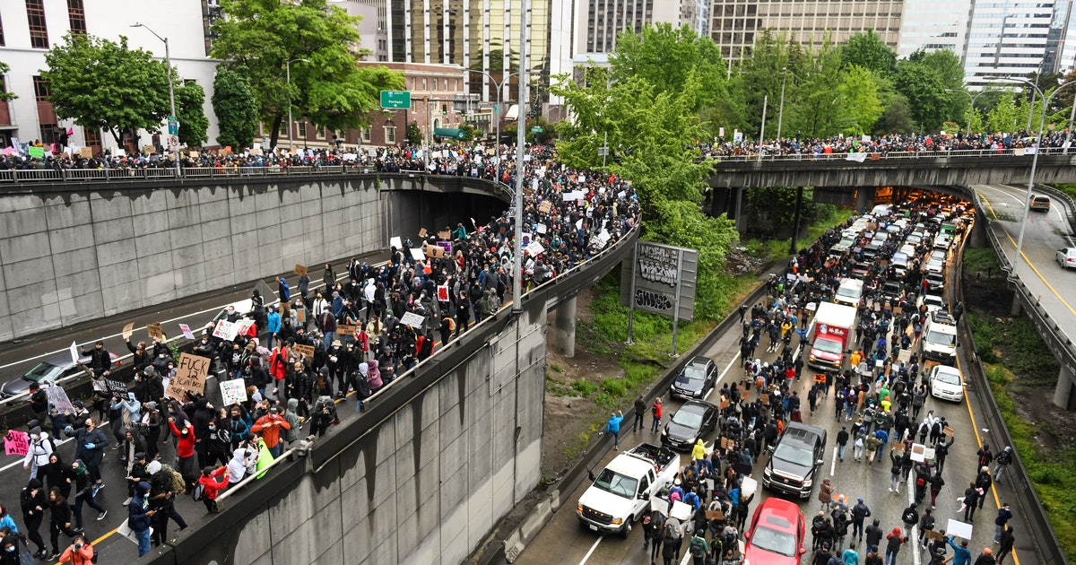 Over 60 people have driven their cars into BLM protesters since May