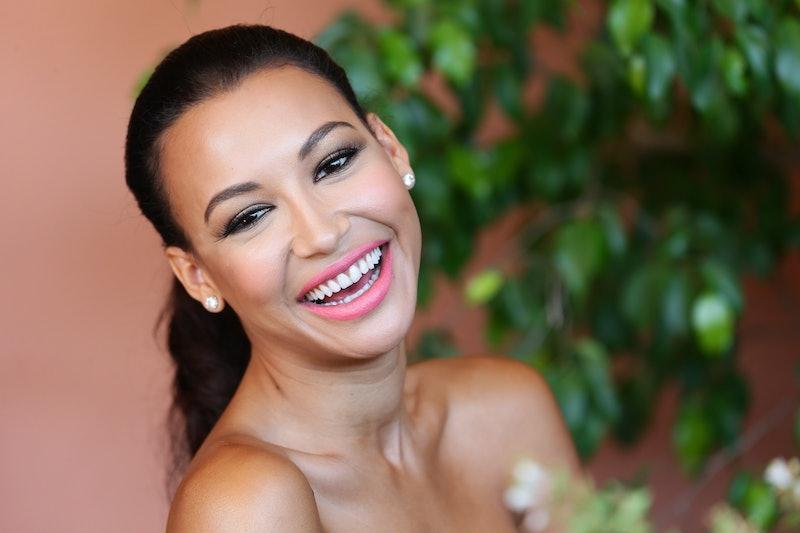 'Glee' actor Naya Rivera smiling