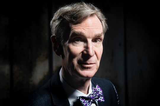 In a two-part TikTok, beloved science guy Bill Nye breaks down why you should mask up with a simple face mask demonstration.