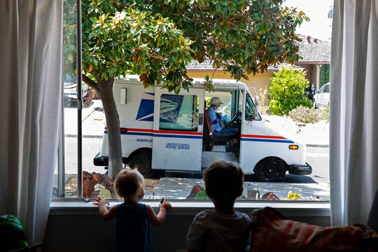Kids are starting to think mail carriers are basically Santa.