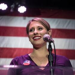 Former Congresswoman Katie Hill