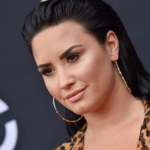 Demi Lovato attends the 2018 Billboard Music Awards