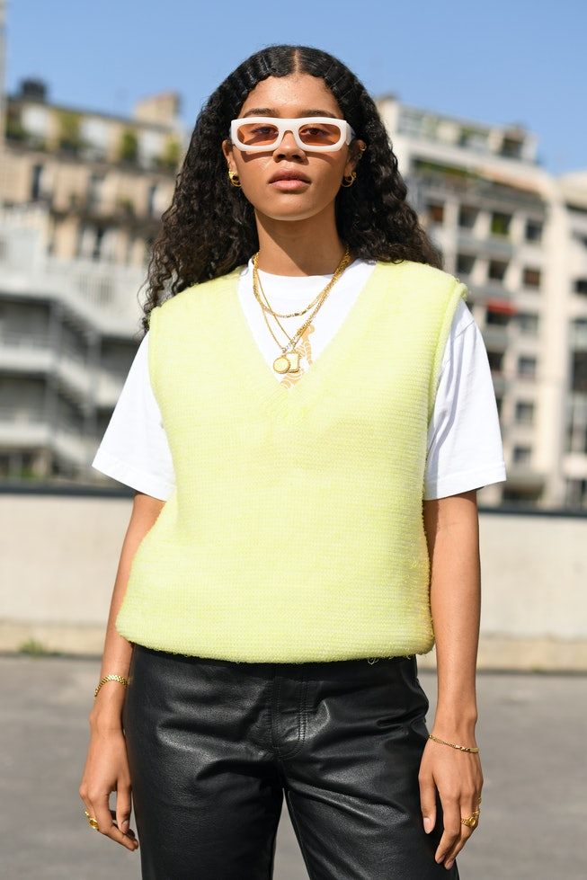 Shop Sweater Vests For Fall 2020 From Brandy Melville To Argyle Prints