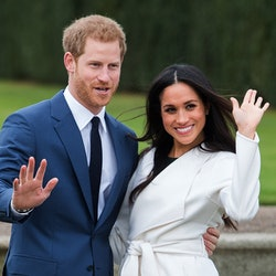 Prince Harry and Meghan Markle announce engagement in 2017