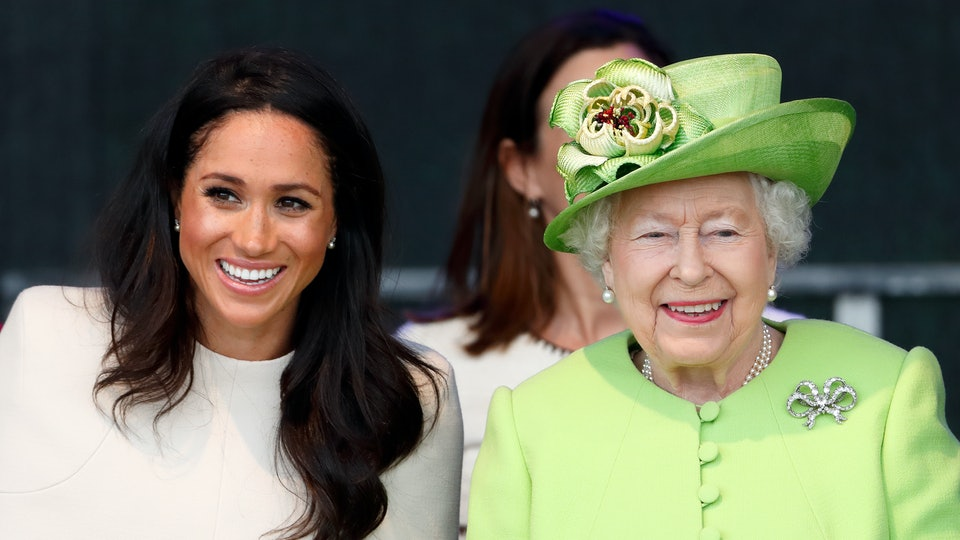 According to a new book, Meghan Markle was proud when Queen Elizabeth posed with her son, Archie.