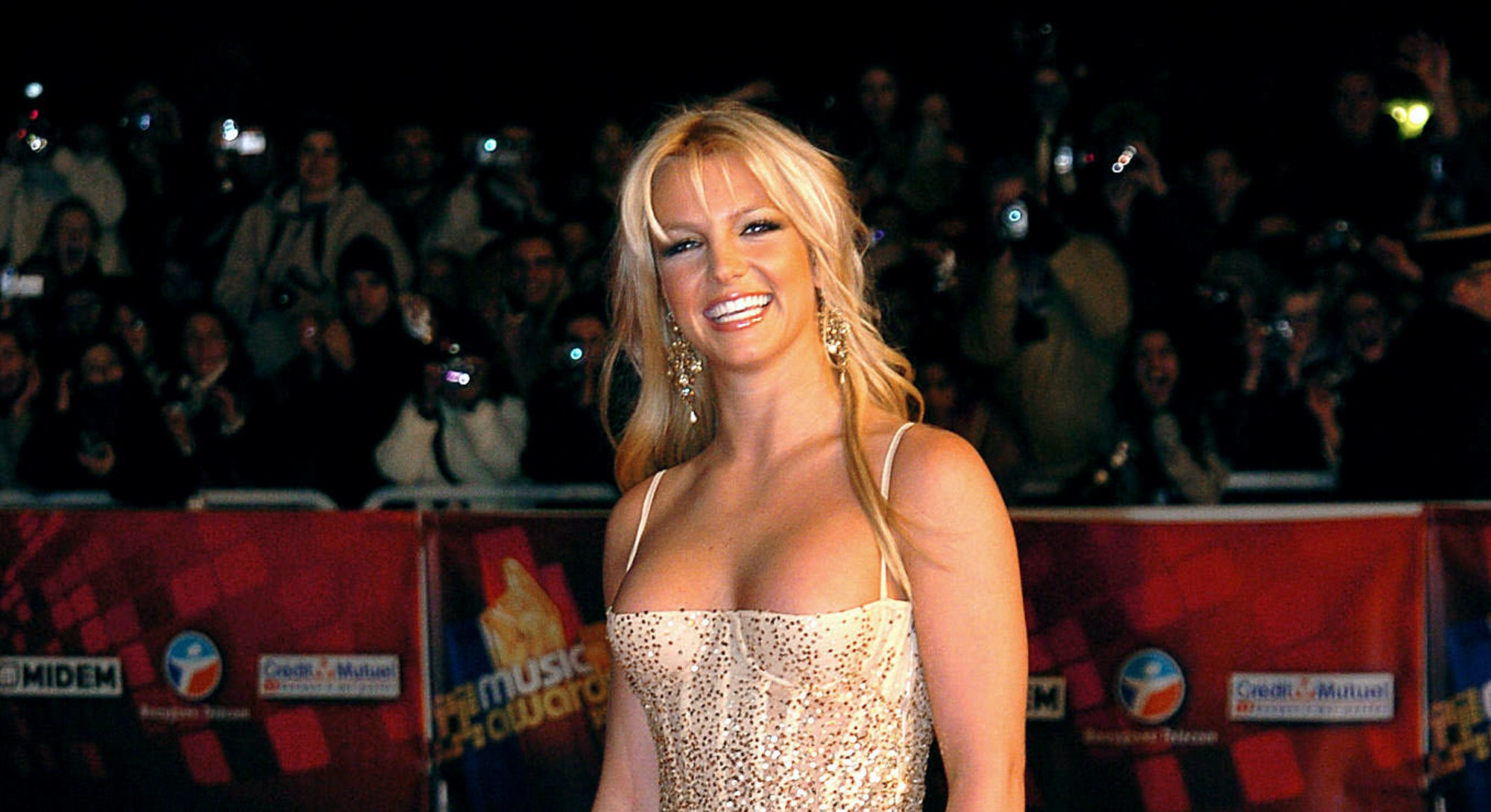 Britney Spears at the 2004 NRJ Awards.